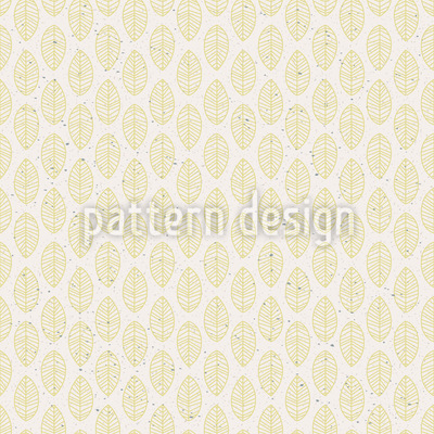 Retro Leaves Seamless Pattern
