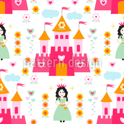 Princess Of The Castle Vector Design