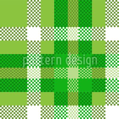 タータンピクセル シームレスなベクトルパターン設計