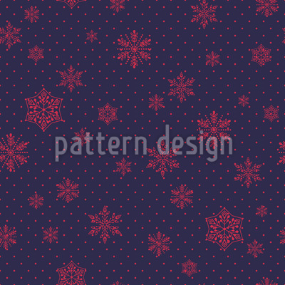 Crystal Rain Pattern Design