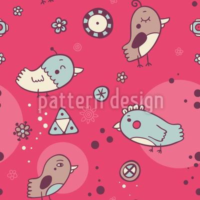 Vögelchetreffen Musterdesign