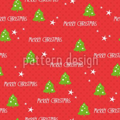 Weihnachts-Geschenkpapier Muster Design