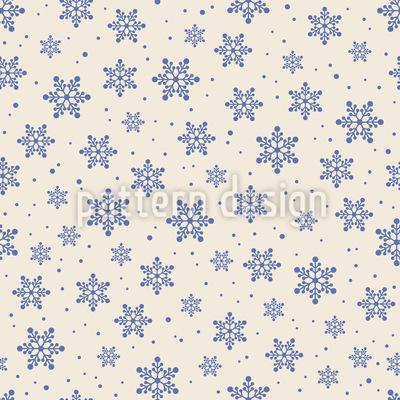 Weiße Winterdecke Vektor Muster