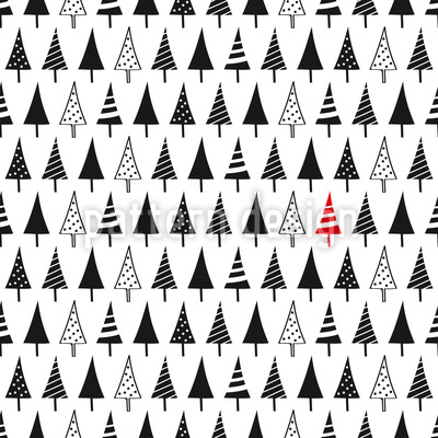 Pick A Christmas Tree Repeat Pattern