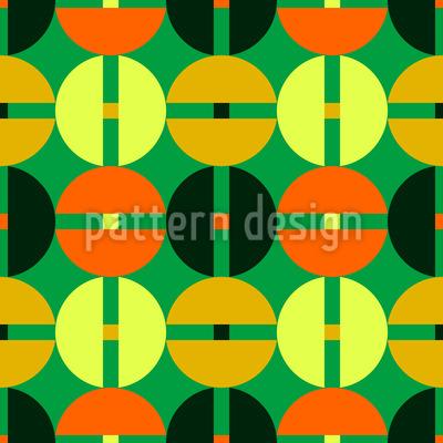 Burger Circles Vector Design