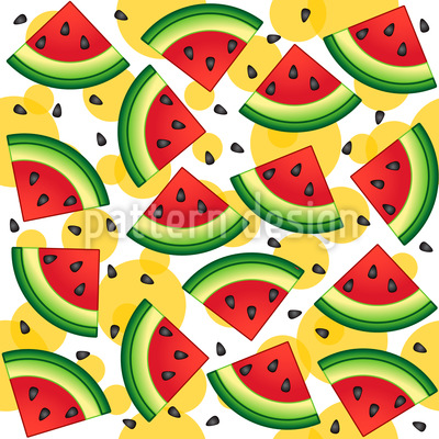 Yummy Watermelon Pattern Design