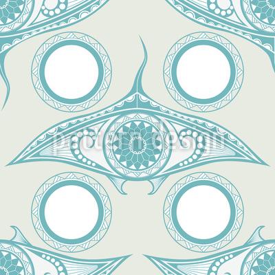 Eye Of The Ocean Repeating Pattern