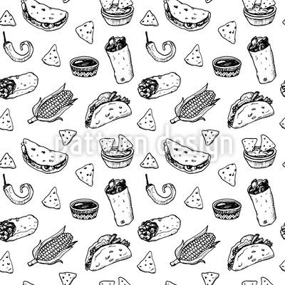 Mexikanisches Essen Rapportmuster