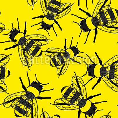Bienen Überall Designmuster