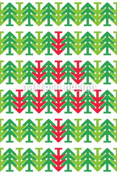 Weihnachtsbaum Am Kopf Vektor Ornament
