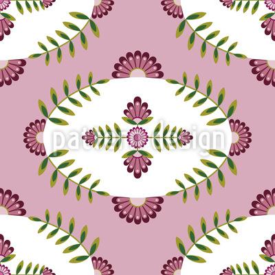 Delicate Floral World Design Pattern