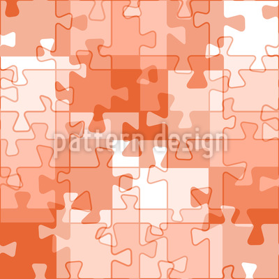 Like A Puzzle Vector Ornament