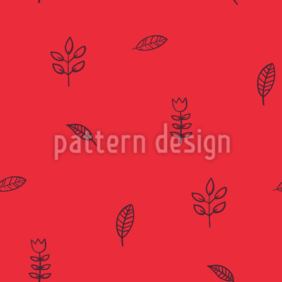 Lovely Leaves Seamless Pattern