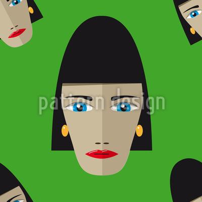 Ägyptische Frau Vektor Ornament