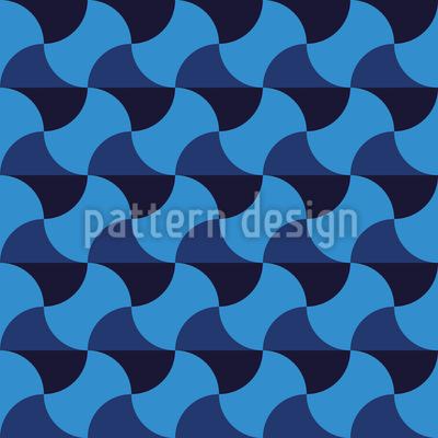 Modern Mesh Vector Pattern