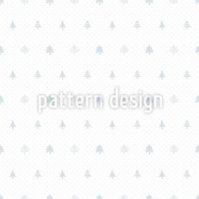 Weihnachtsbaum und Punkte Vektor Muster