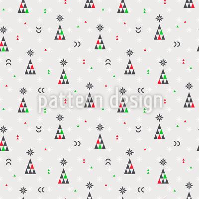 Dreieck-Weihnachtsbaum Rapport