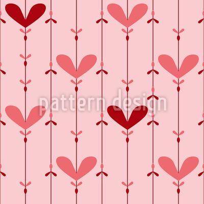 Liebliche Schnüre Muster Design