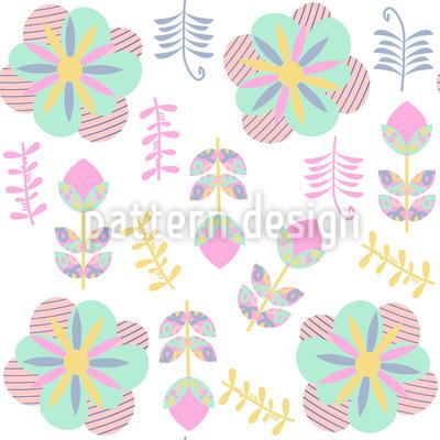 Florale Impressionen Musterdesign
