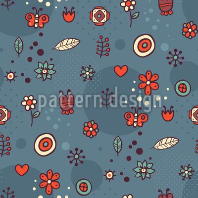 Doodle Florets Design Pattern