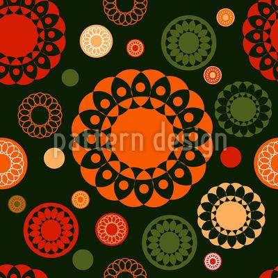 Kreis Spitze Vektor Muster