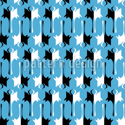 Tanzende Kraniche Muster Design
