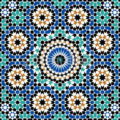 Marrakesch Designmuster