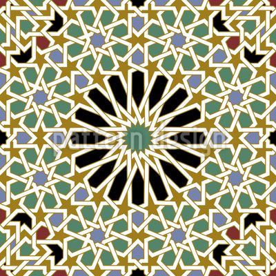 Riad Pracht Nahtloses Muster