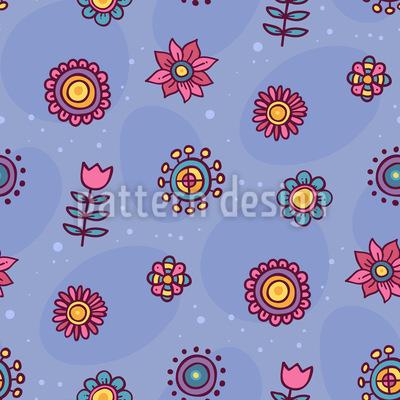 Himmel Voll Blumen Vektor Design