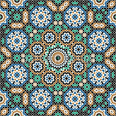 Marokkanisches Hammam Rapportiertes Design