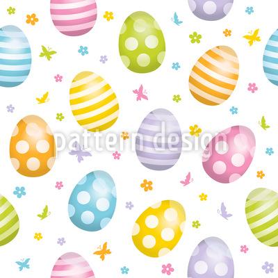 Verschönerte Eier Nahtloses Muster