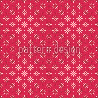 Everywhere Christmas Stars  Vector Pattern