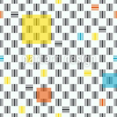 Abstrakte Barcodes Vektor Muster