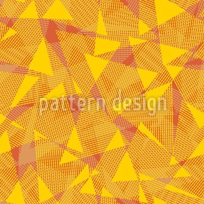 Es Waren Einmal Dreiecke Muster Design