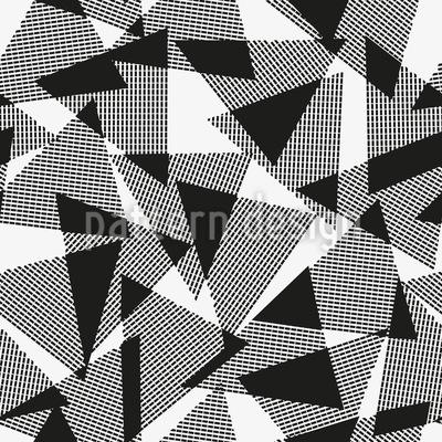 Überlappende Dreiecke Musterdesign