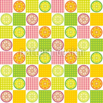 Yummy Lemons Pattern Design