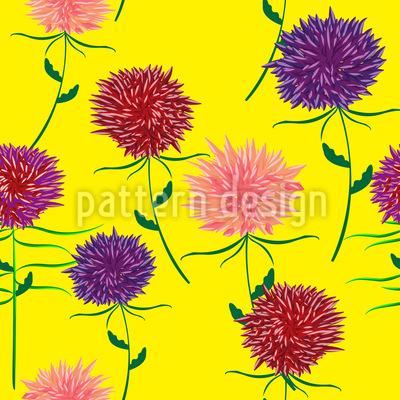 Blumen Sommer Designmuster