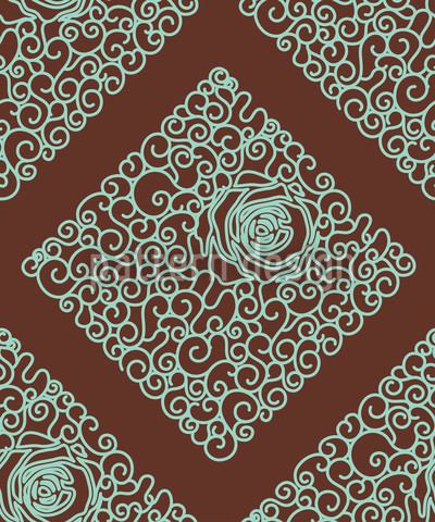 Dornröschens Schokolade Vektor Muster