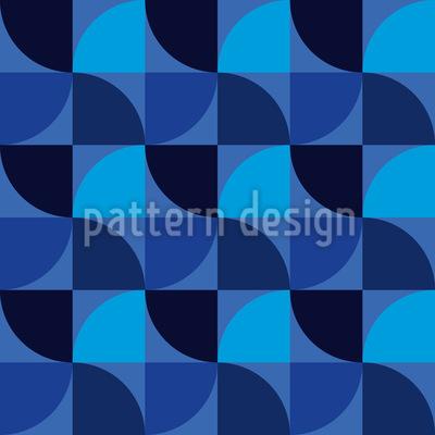 Geometrische Windräder Muster Design