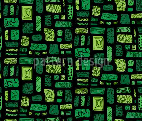 Art Garden Path Pattern Design