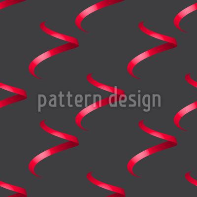 Falling Curls Pattern Design