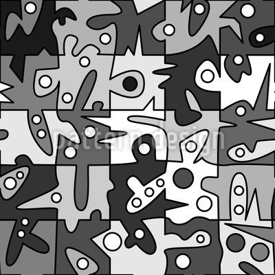Fantasie Gefordert Muster Design