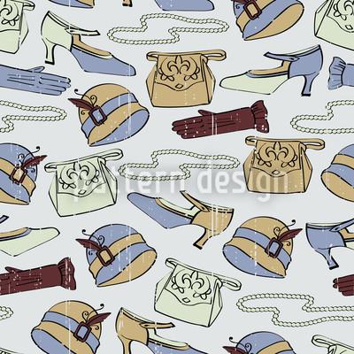 Accessoires Des Grande Dames Musterdesign