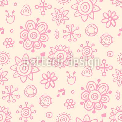 Musik im Garten Musterdesign