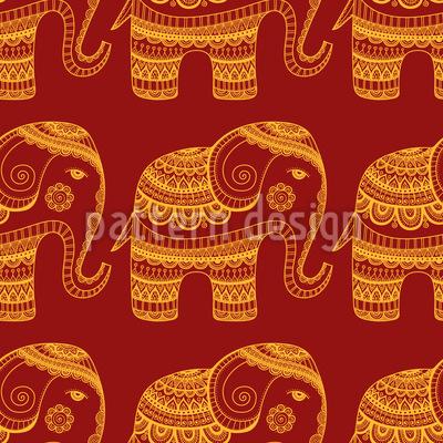 Ein Segen Für Indien Muster Design