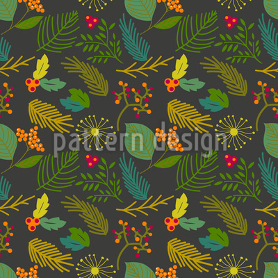 A Blossom Of Winter Design Pattern