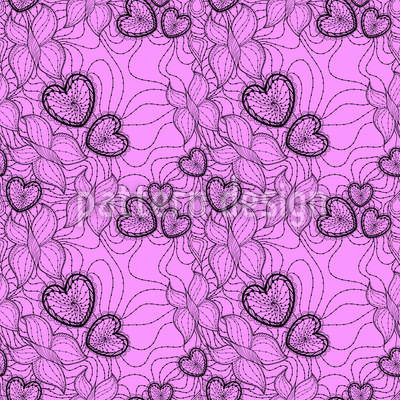 Openwork Lace Vector Pattern