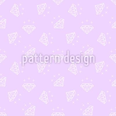 Leichte Diamanten Vektor Muster