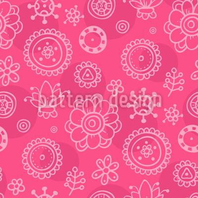 Girls Garden Repeating Pattern