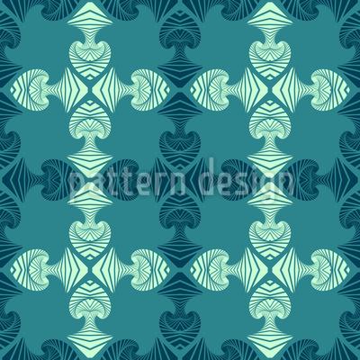 Maori Taucher Muster Design